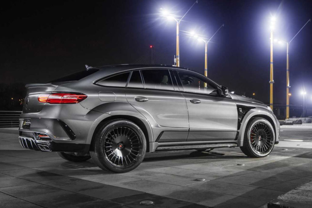 Эпатажный Project Inferno на базе Mercedes-AMG GLE 63 S Coupe