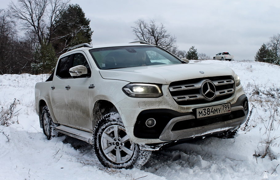 Тест-драйв Mercedes-Benz X 350d 4Matic: на всю силу